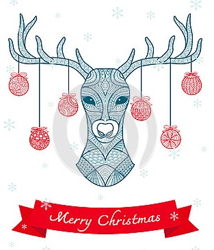 hand-drawn-deer-head-christmas-balls-hanging-its-horn-christmas-card-decoration-62111057
